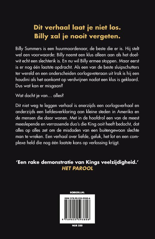 Stephen King,Billy Summers