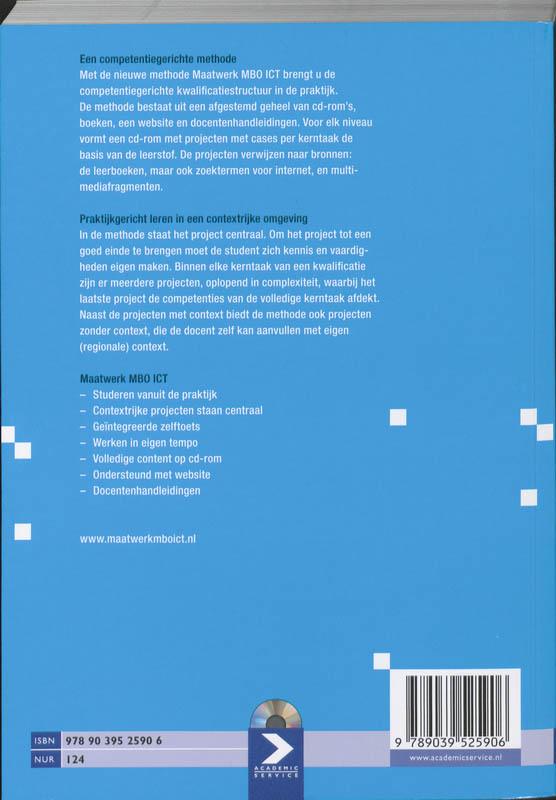 H. van Rheenen, G. Sanchez Cano, Bert Pinkster,Basisboek ICT Niveau 3