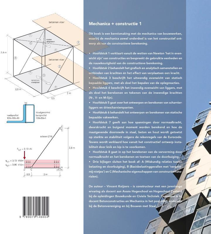V.G. Keijzers,Mechanica + constructie 1