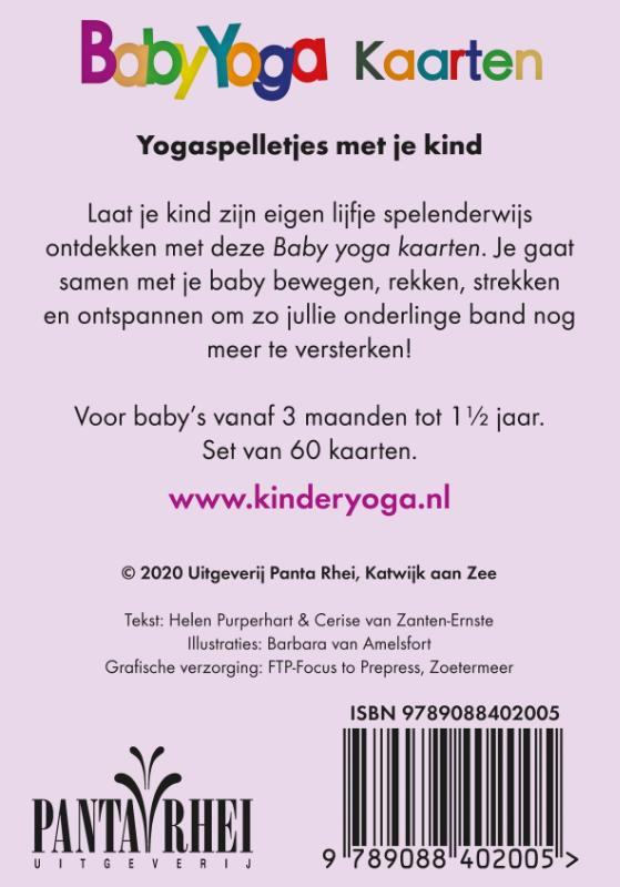 Helen Purperhart, Cerise van Zanten-Ernste,Baby-yoga kaarten