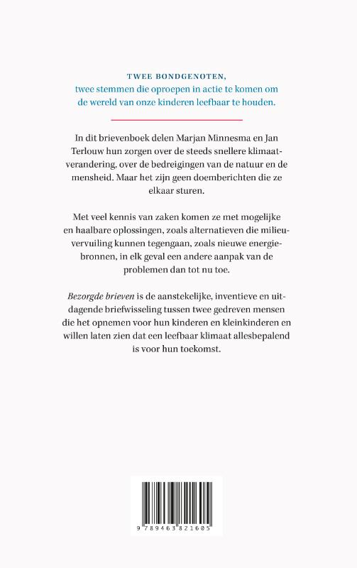 Jan Terlouw, Marjan Minnesma,Bezorgde brieven