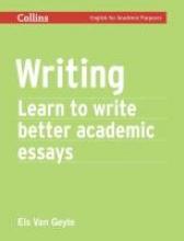 Els Van Geyte Writing
