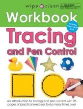 Wipe Clean Tracing and Pen Control Workbook