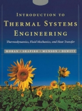 Moran, Michael J. Introduction to Thermal Systems Engineering