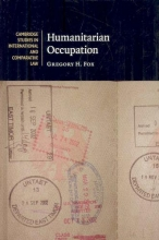 Fox, Gregory H. Humanitarian Occupation