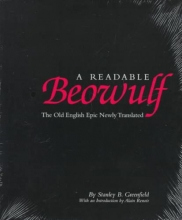 Stanley B Greenfield A Readable Beowulf