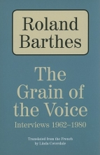 Barthes, Roland The Grain of the Voice