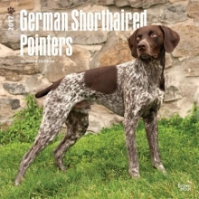 Browntrout Publishers, Inc German Shorthaired Pointers 2017 Square