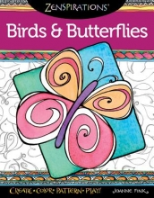 Fink, Joanne Zenspirations Coloring Book Birds & Butterflies