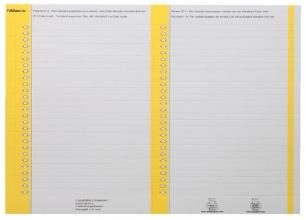, Ruiterstrook Elba Nr 8 138x6mm lateraal geel