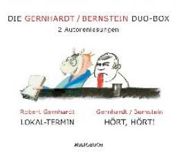 Gernhardt, Robert Die Gernhardt /Bernstein Duo-Box (Lokal-Termin, Hört, hört!)