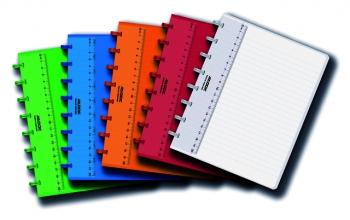 , Schrift Adoc Colorlines A5 lijn144blz 90gr PP assorti