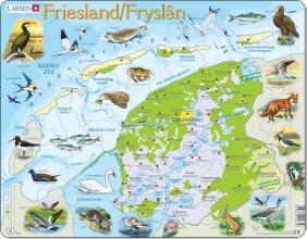 Larsen puzzel- Friesland natuurkundig - K80