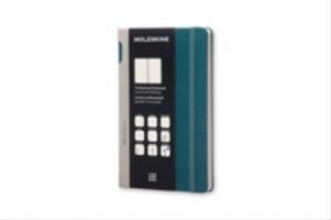 Notitieboek Moleskine Pro large 210X130mm gelinieerd groen
