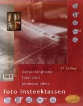 , Fototas Multo A4 23-gaats 4-vaks 10X15cm PP transparant