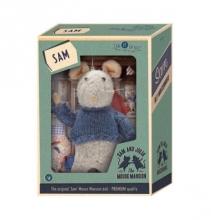 Sam, pluche muis in doosje, Het Muizenhuis, Studio Schaapman happy horse