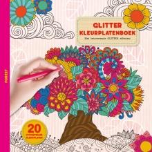 , Glitter kleurplaten boek - Forest
