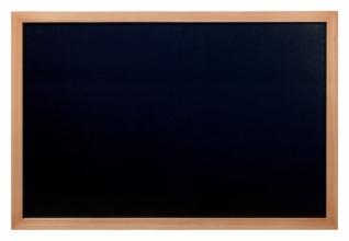 , Krijtbord Securit wand 60x80cm teak hout