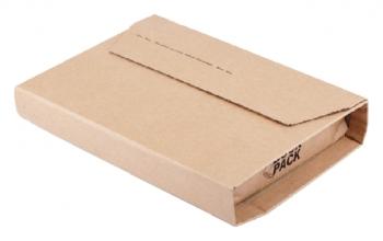 , Wikkelverpakking CleverPack ringb +zelfkl strip bruin 10stuk