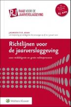 , Richtlijnen voor de jaarverslaggeving, middelgrote en grote rechtspersonen 2020