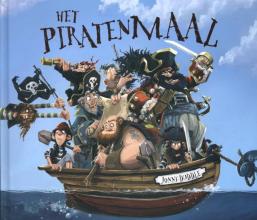Jonny  Duddle Het piratenmaal