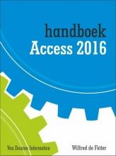 Wilfred de Feiter , Handboek access 2016