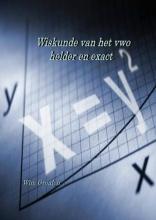Gronloh, Wim  Wiskunde van het vwo