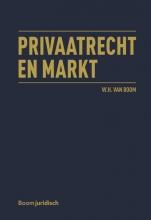 W.H. van Boom , Privaatrecht en markt