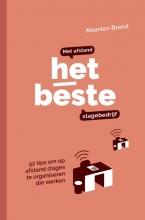 Maarten Brand , Met Afstand het Beste Stagebedrijf