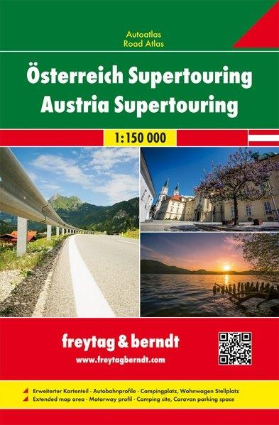 ,Österreich Supertouring, Autoatlas 1:150.000