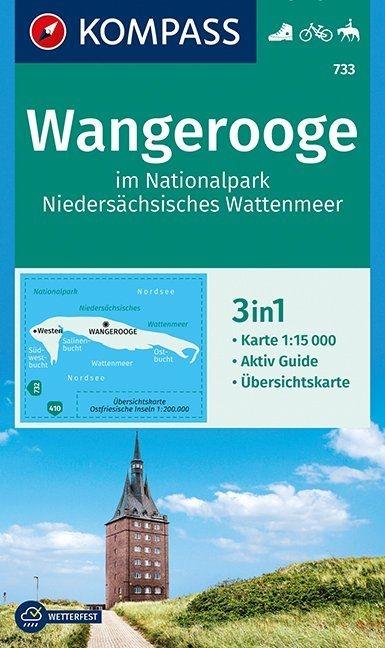 ,Wangerooge im Nationalpark NIedersächsisches Wattenmeer 1:15 000