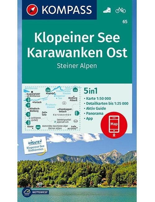 ,Kompass WK65 Klopeiner See