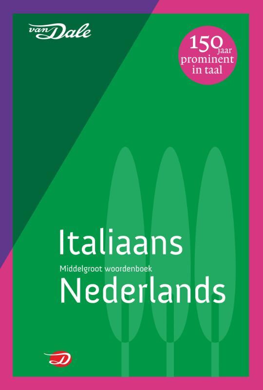 ,Van Dale Middelgroot woordenboek Italiaans-Nederlands