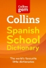 ,Collins Gem Spanish School Dictionary