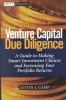 Camp, Justin J.,Venture Capital Due Diligence