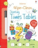 Greenwell, Jessica,Wipe-Clean Starting Times Tables