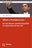 What a President Can -,Barack Obama und Reformpolitik im Systemkorsett der USA