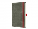 ,notitieboek Conceptum 194blz hard Vintage Light Grey        135x203mm gelinieerd