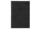 Buchkalender 836,1 Tag/1 Seite, Kunststoff, wattiert, anthrazit