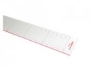 ,snijliniaal Aristo 50cm plexiglas met stalen kant