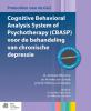 J.  Wiersma, Anneke van Schaik, Patricia van Oppen,Cognitive behavioral analysis system of psychotherapy (CBASP) voor de behandeling van chronische depressie