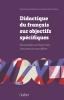 ,Didactique du français sur objectifs spécifiques