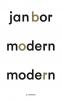 Jan  Bor,Modern modern