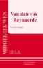 ,Van den vos Reynaerde ; een dierenepos (tekst en vertaling)