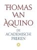 Thomas van Aquino,De academische preken