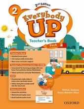 Jackson, Patrick Everybody Up: Level 2. Teacher`s Book Pack with DVD, Online Practice and Teacher`s Resource Center CD-ROM