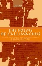 Frank (Professor and Chairman, Department of Classics, Professor and Chairman, Department of Classics, University of Massachusetts, Boston) Nisetich The Poems of Callimachus
