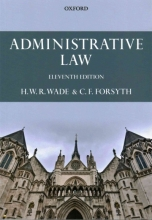 Forsyth, Christopher Administrative Law
