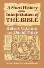 Robert M. Grant A Short History of the Interpretation of the Bible