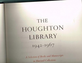 Harvard The Houghton Library, 1942-67
